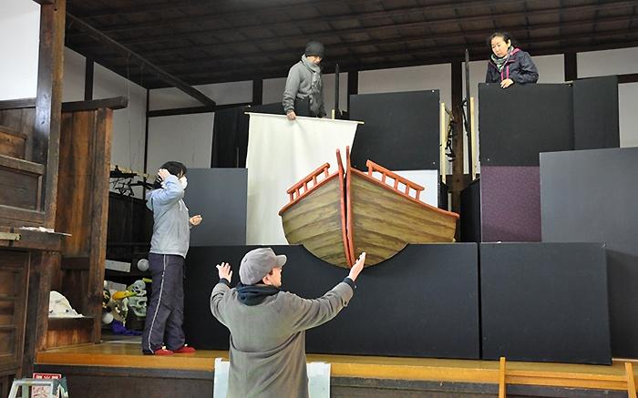 ITOプロジェクト『高丘親王航海記』稽古風景。