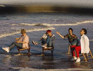THE BEAT GARDEN 自然体の4人を映した新曲「花火」MV公開