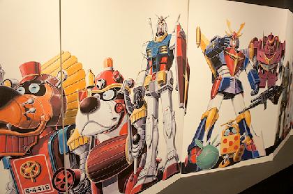 ヤッターマン、ガンダムなど40年に渡る仕事を一挙大公開!『メカニックデザイナー大河原邦男展』