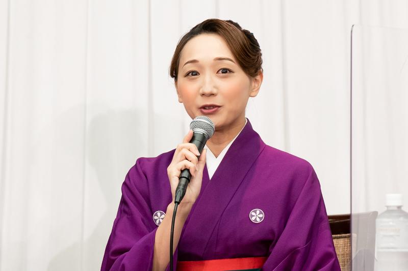 「ダンスが本当に好き」と語る舞美りら。大阪公演では踊りながら、日々「生きている!」と実感。