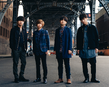 Official髭男dism、新アルバム発売記念で渋谷ジャックポスター掲出 さらに未発表曲「Travelers」を渋谷某所で初解禁