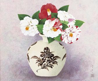 椿の花をモチーフにした絵画や工芸品の展覧会『椿つれづれ』、資生堂アートハウスで開催