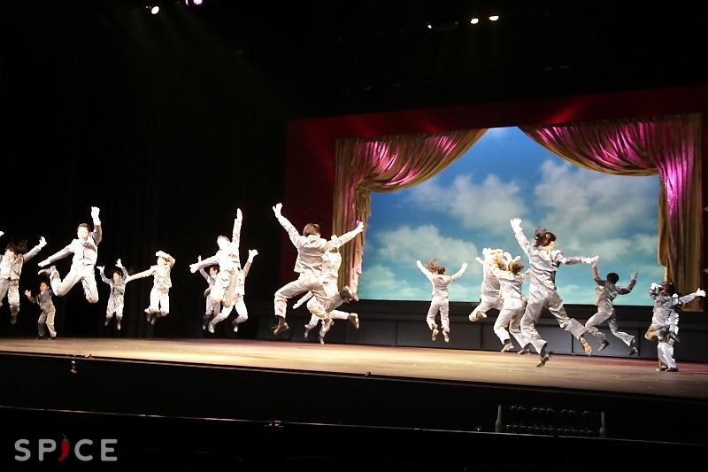 タップキッズたちによるダンスショー