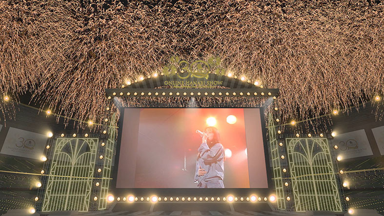 『ZARD 30th Anniversary ONLINE HANABI SHOW 〜Happy Birthday Dear IZUMI SAKAI〜』