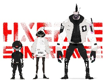 BURNOUT SYNDROMESプロデュースのスペシャルユニットHXEROS SYNDROMES始動、OPテーマ担当のアニメ『ド級編隊エグゼロス』放送開始