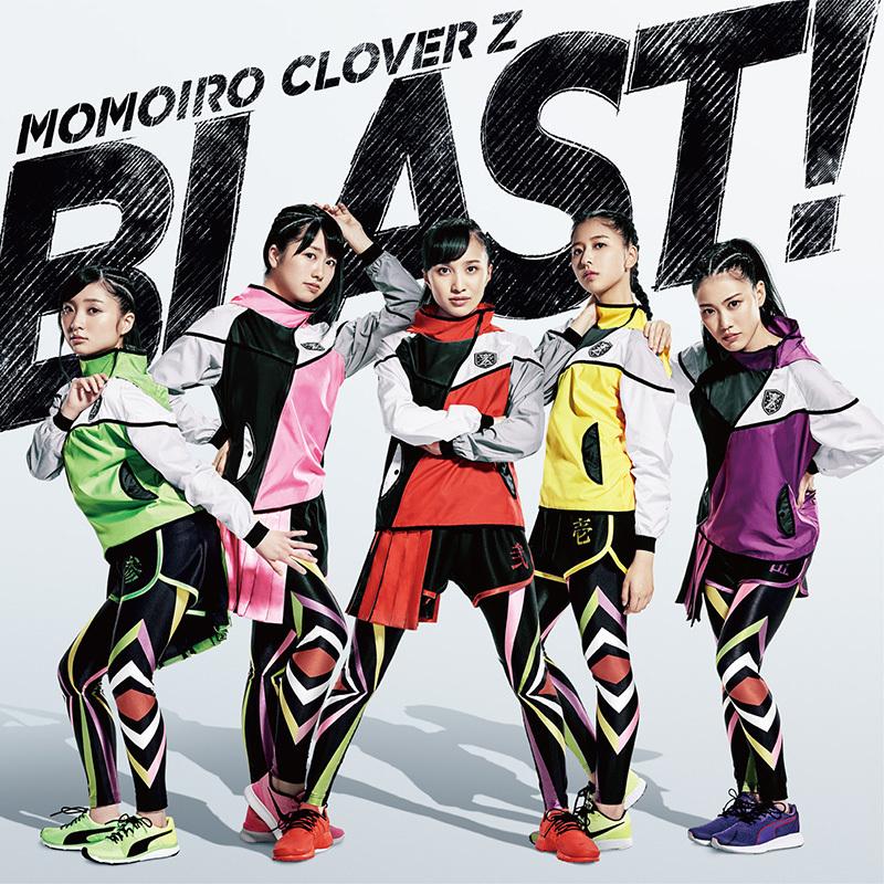 ももいろクローバーZ「BLAST!」通常盤