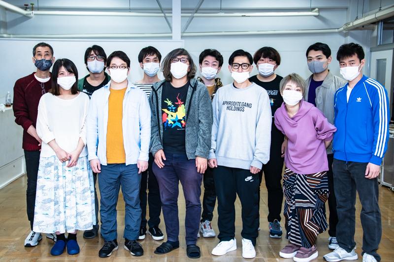 ご来場の際はマスクの着用を。