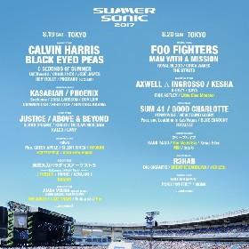 『SUMMER SONIC』第9弾出演発表でリトグリ、BRADIO、ミオヤマザキほか 『SONIC MANIA』にはPerfumeが出演決定