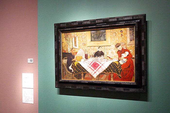 エドゥアール・ヴュイヤール《エッセル家旧蔵の昼食》1899 年│オルセー美術館