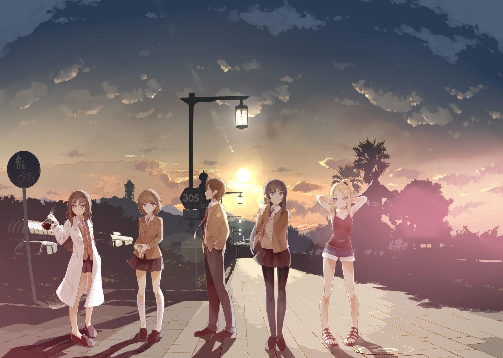 溝口ケージ描き下ろし追加キャラクタービジュアル (C)2018 鴨志田 一/KADOKAWA アスキー・メディアワークス/青ブタ Project