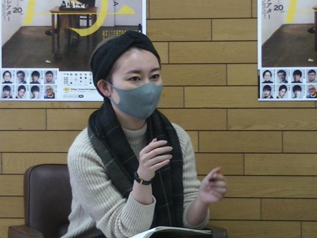 オフィスコットーネプロデュース『母 MATKA』演出家・稲葉賀恵。