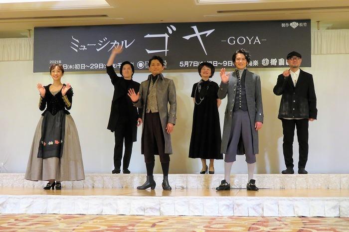(左から)清水くるみ、清塚信也、今井翼、鈴木裕美、小西遼生、G2
