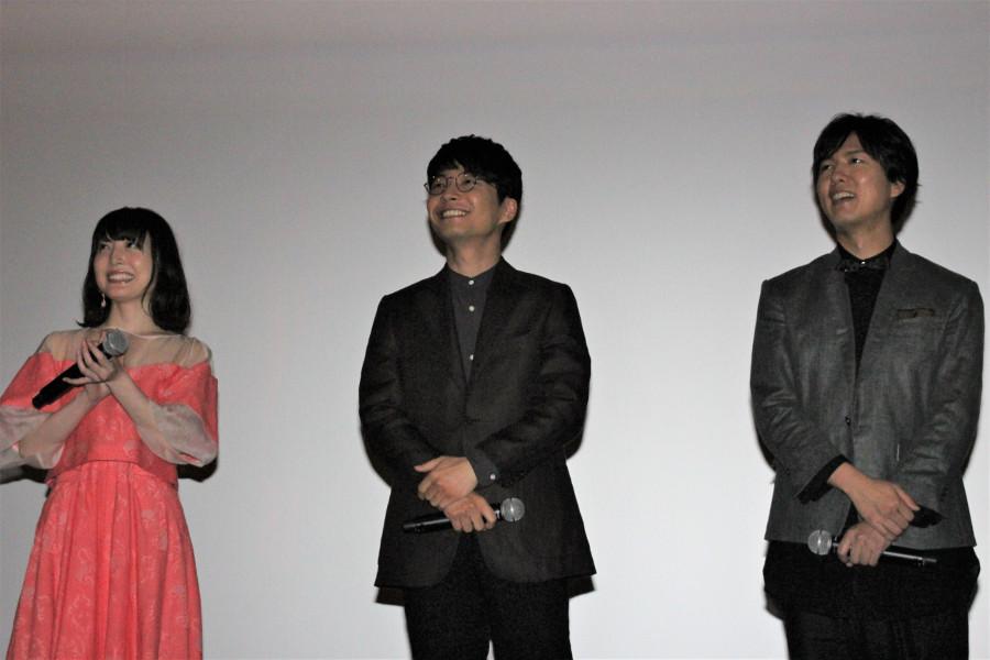 左から、花澤香菜、星野源、神谷浩史