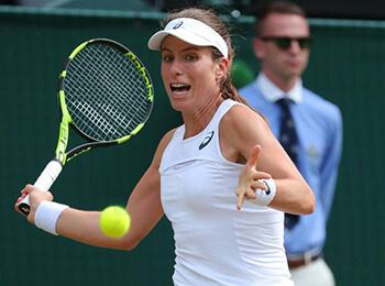 『東レ パン パシフィック オープンテニストーナメント 2017』への出場を表明したジョアンナ・コンタ(イギリス)
