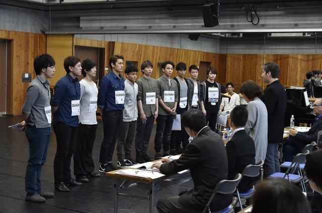 カジモド役の選考(撮影:阿部章仁)