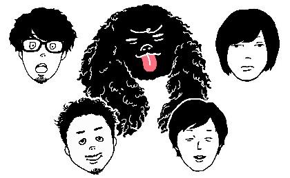 キュウソネコカミ、ニューアルバム『にゅ~うぇいぶ』特設サイトがオープン