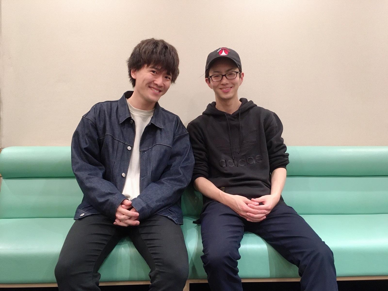 畠中祐&髙坂篤志 (C)Frontier Works Inc.