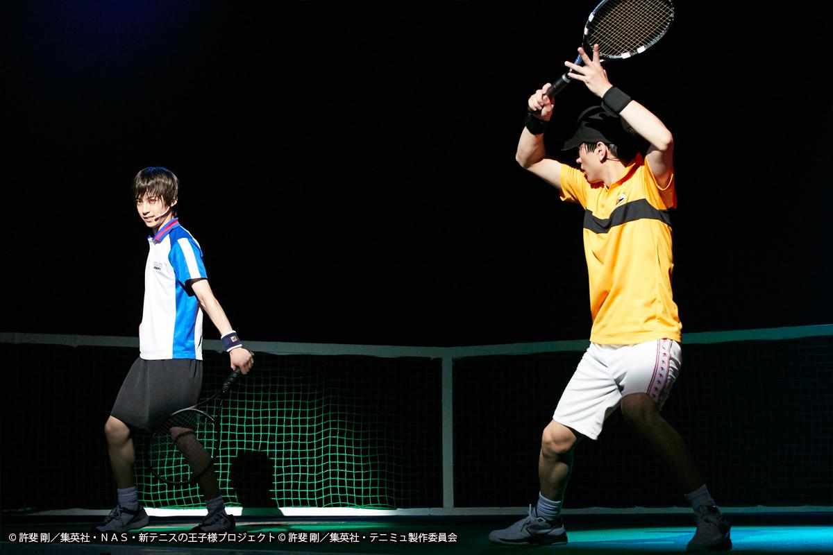 ミュージカル『テニスの王子様』3rdシーズン 青学(せいがく)vs立海 (C)許斐 剛/集英社・NAS・新テニスの王子様プロジェクト (C)許斐 剛/集英社・テニミュ製作委員会