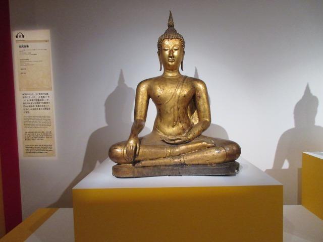 「仏陀坐像」