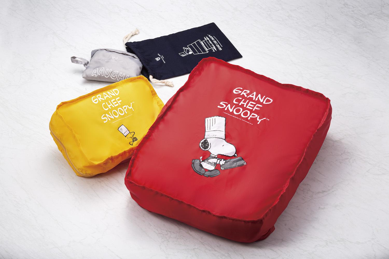 「Grand Chef SNOOPY」宿泊プランの特典グッズ(一例) (写真=オフィシャル提供)