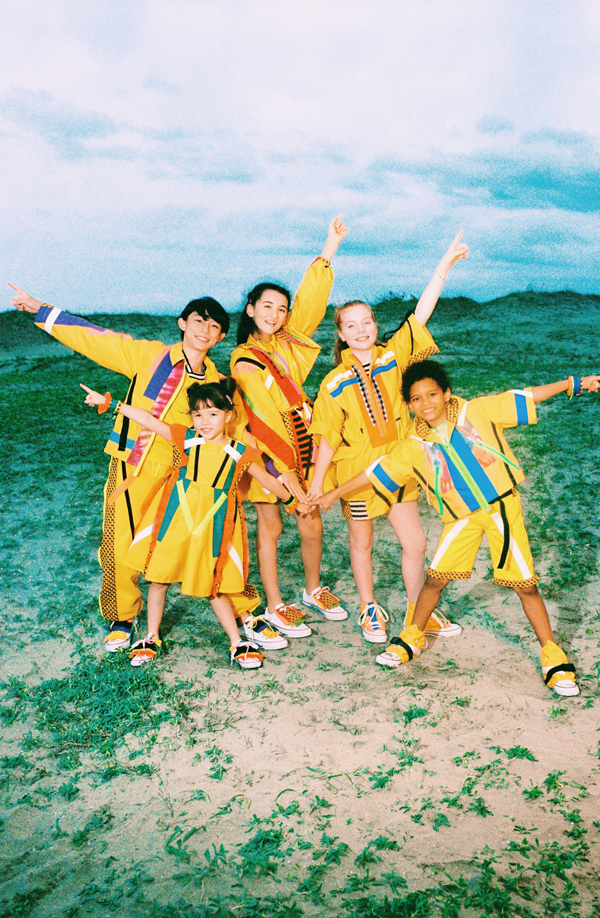 Foorin team E Photo by Takako Noel