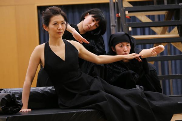 音楽劇「黒蜥蜴」稽古場写真 撮影:猪熊康夫