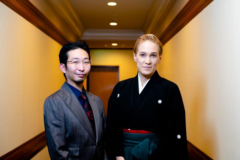 (左から)戸部和久、桐生麻耶