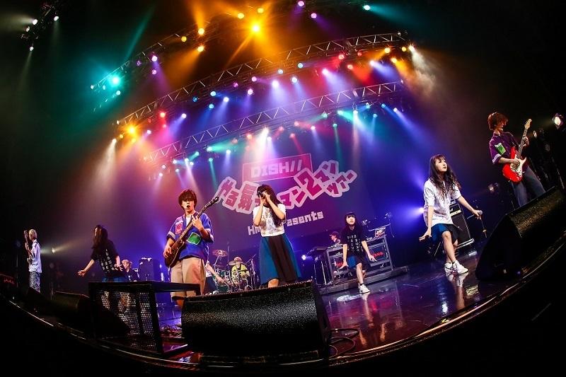 DISH// ×BiSH『DISH// やる気マンマン2マン TOUR』2017.7.4 Zepp DiverCity TOKYO