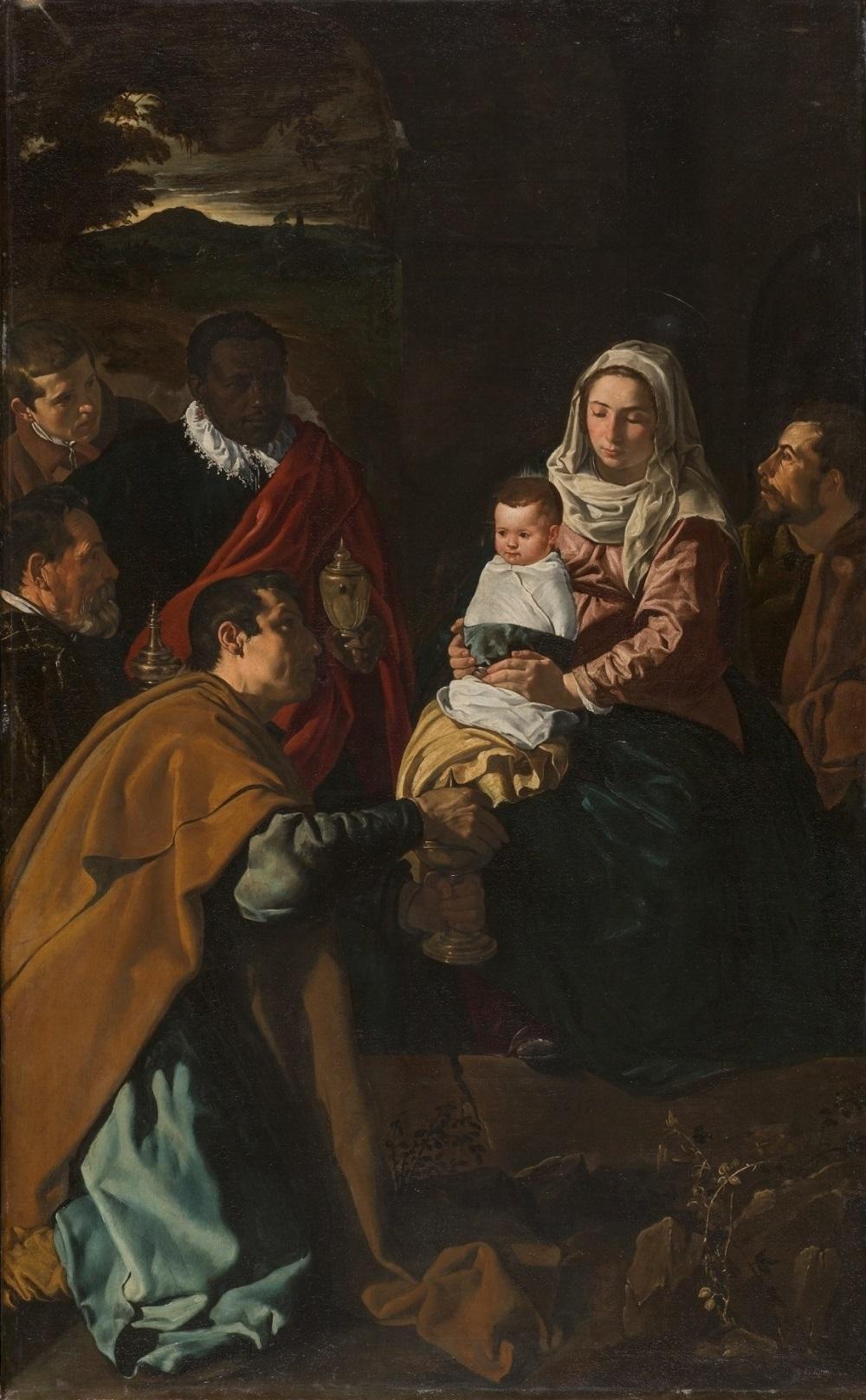 ディエゴ・ベラスケス《東方三博士の礼拝》1619年 マドリード、プラド美術館蔵 © Museo Nacional del Prado