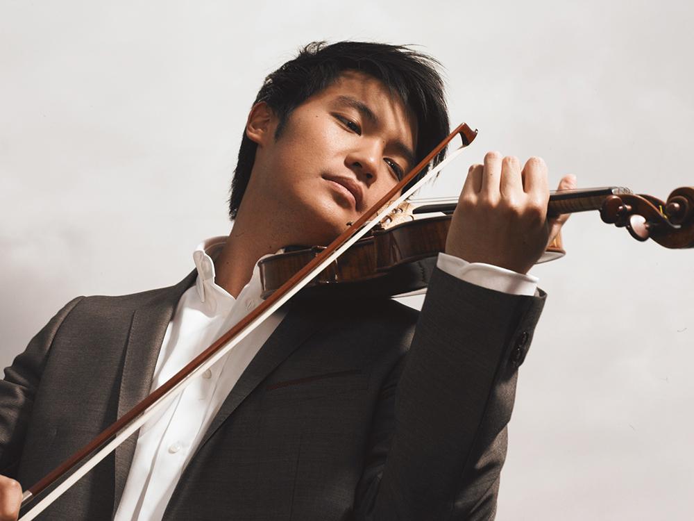 ヴァイオリン:レイ・チェン Chris Dunlop