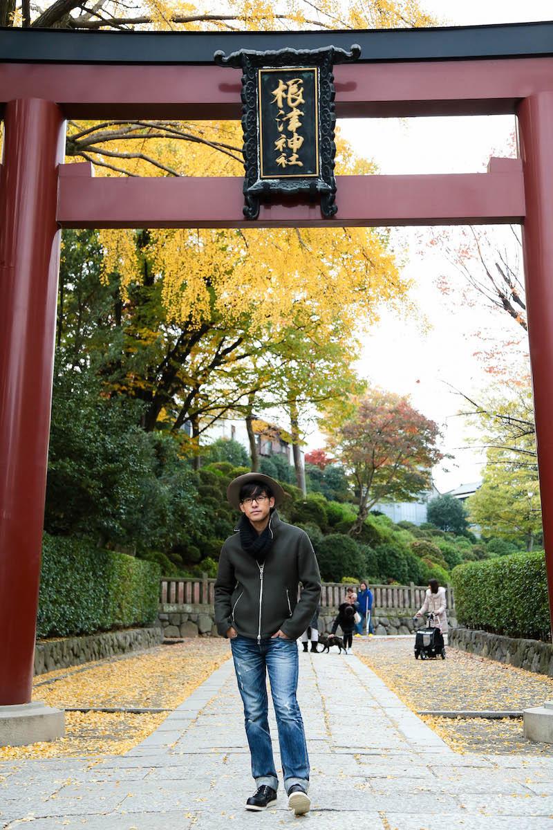ほどなく根津神社に到着