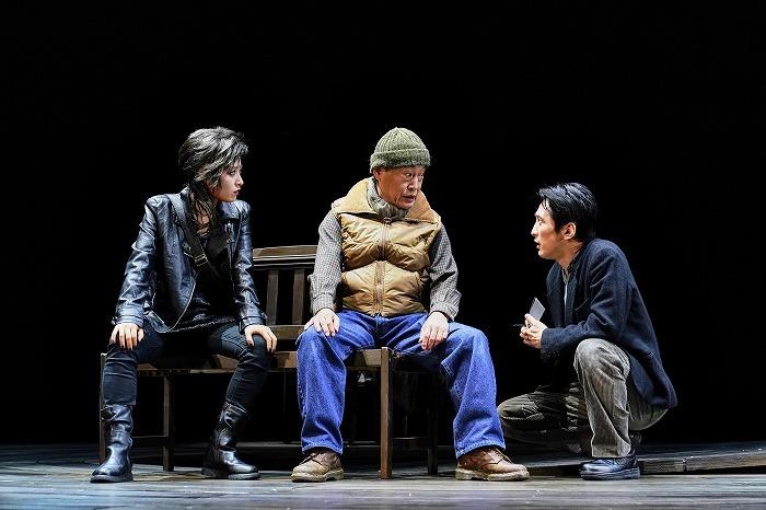 『森 フォレ』左から:瀧本美織 大鷹明良 成河 撮影:細野晋司