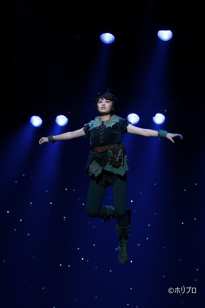 『ピーターパン』2019年公演舞台写真 吉柳咲良    (C)ホリプロ