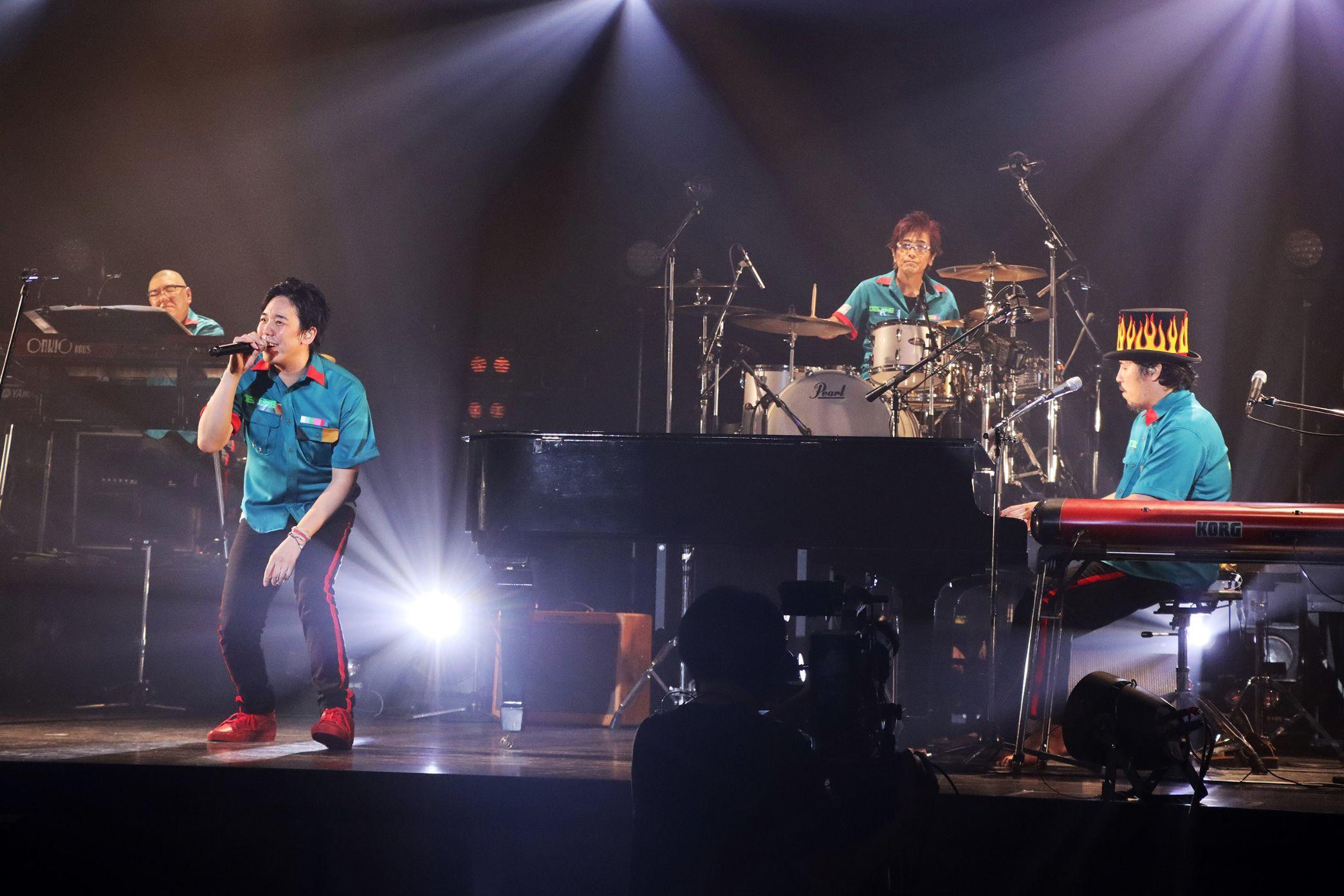 """スキマスイッチ『Streaming LIVE""""a la carte 2020""""~実際にやってみた!~』 撮影=岩佐篤樹"""