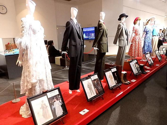 3階「現在の宝塚歌劇」は公演ごとに展示内容が変わる