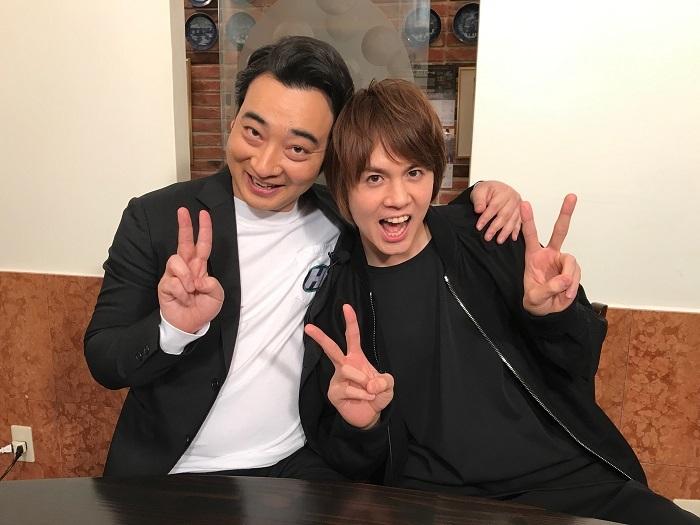 写真左から 斉藤慎二(ジャングルポケット)、浦井健治(※過去登場回の対談ロケより)