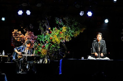 斉藤和義と立川談春が京都・平安神宮でコラボ ーー3500人が音楽と落語の融合に酔いしれる