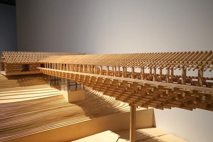 《梼原 木橋ミュージアム》(2010 高知県高岡郡梼原町)模型