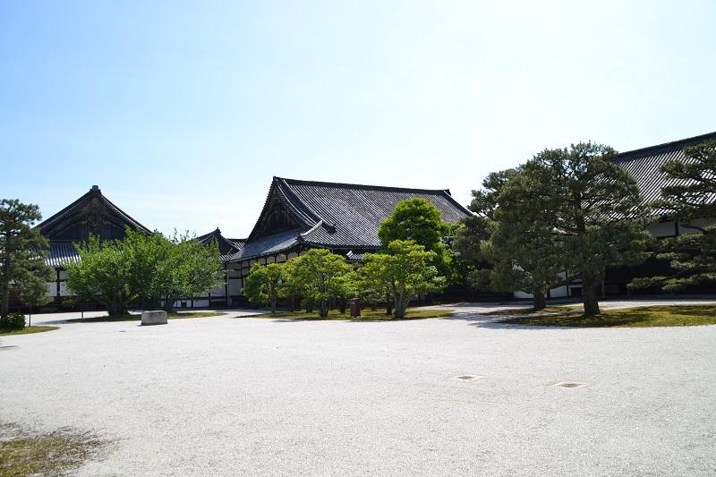 世界遺産・二条城 二の丸御殿中庭