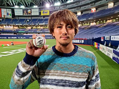 小田裕也選手