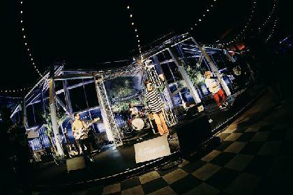 OKAMOTO'S、TVアニメ『富豪刑事 Balance:UNLIMITED』ED曲収録EPのリリースを発表 初の無観客生配信ライブで