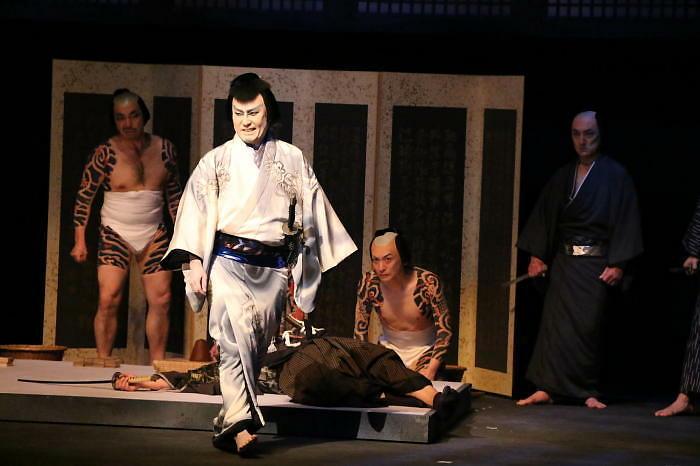 六本木歌舞伎 第二弾『座頭市』ゲネプロ