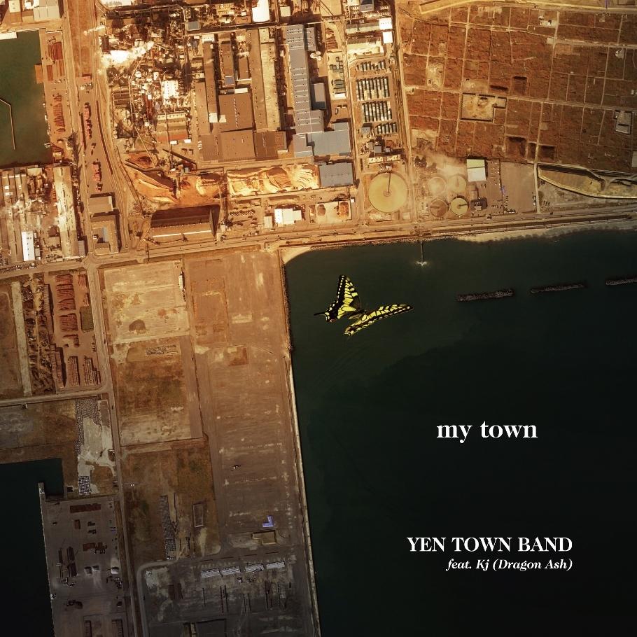 YEN TOWN BAND「my town」ジャケット写真_初回限定盤