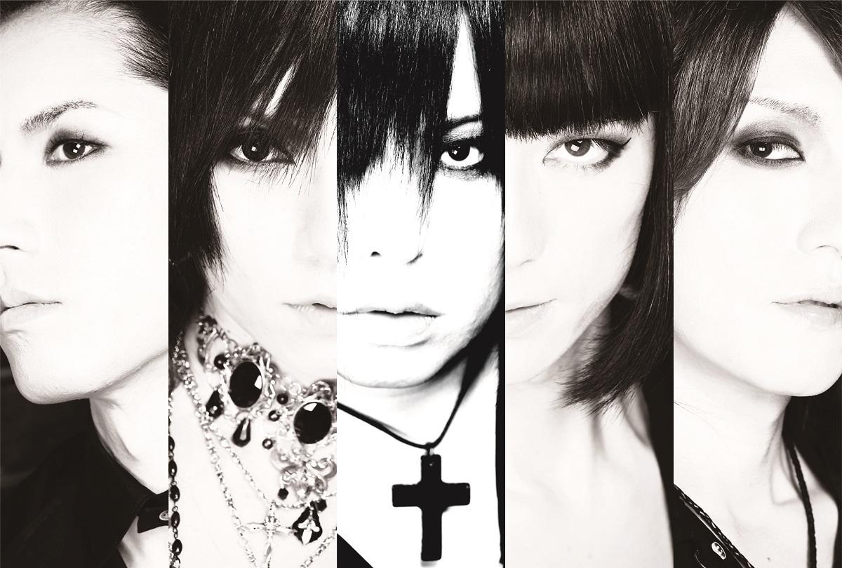 Kαin L⇒R:SHIGE(G&Vo)、SANA(G)、YUKIYA(Vo)、TAIZAN(Cello.)、ATSUSHI(Dr)