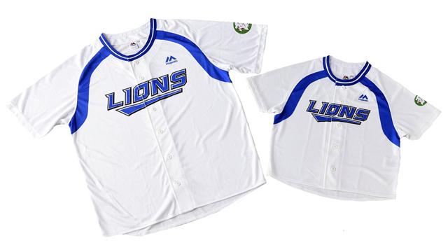 ライオンズが2004年~2008年シーズンで着用した当時のユニフォームを復刻 (c)SEIBU Lions