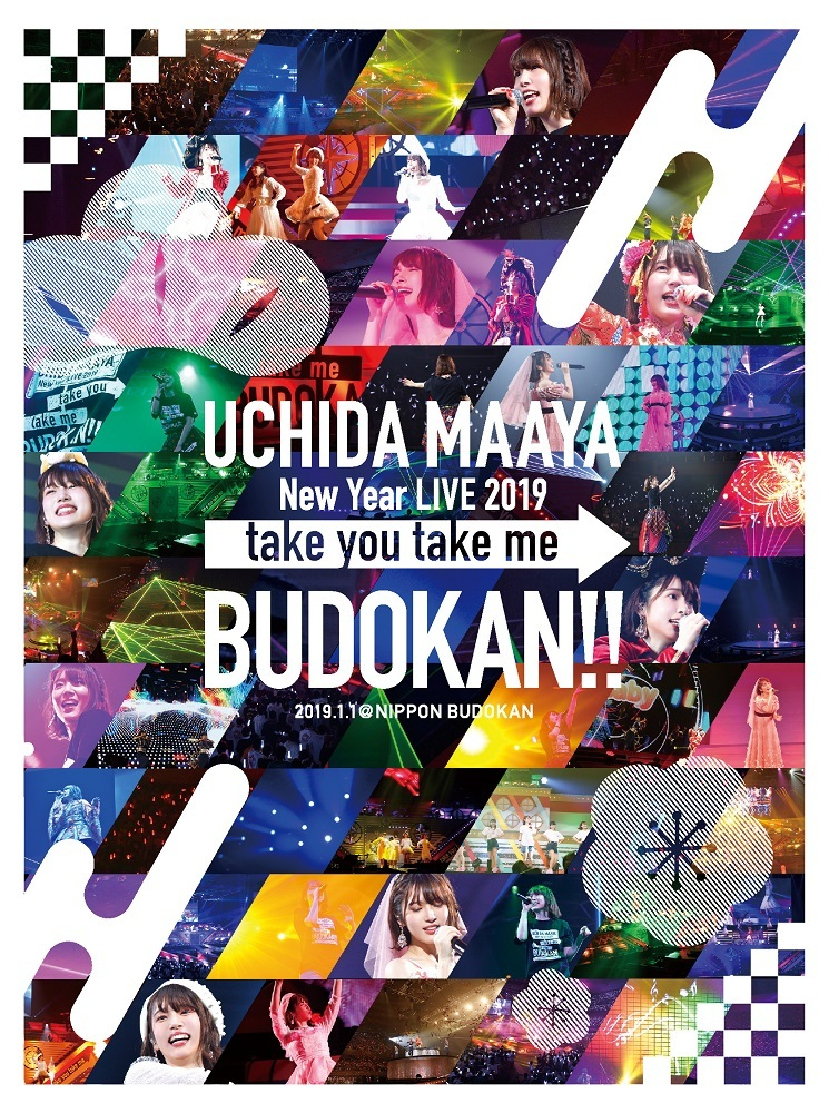 Blu-ray&DVD「UCHIDA MAAYA New Year LIVE 2019『take you take me BUDOKAN!!』」