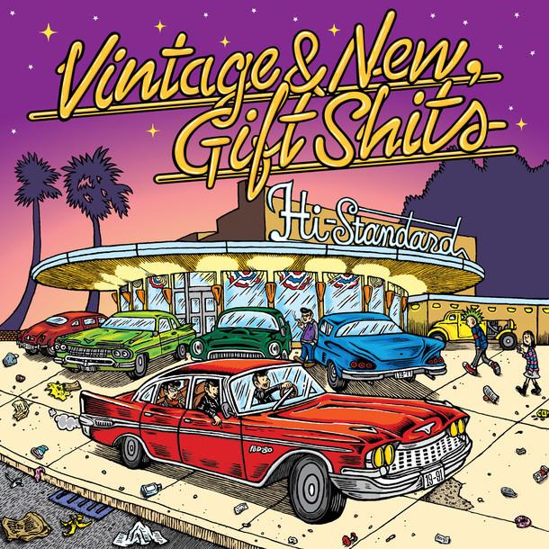 Hi-STANDARD「Vintage & New, Gift Shits」ジャケット
