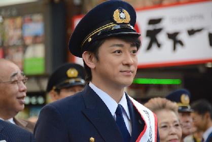 山本耕史が1日消防署長に!『2017ファイアーフェスタin新宿歌舞伎町』