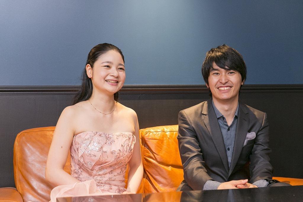 鈴木舞(ヴァイオリン)、實川風(ピアノ)