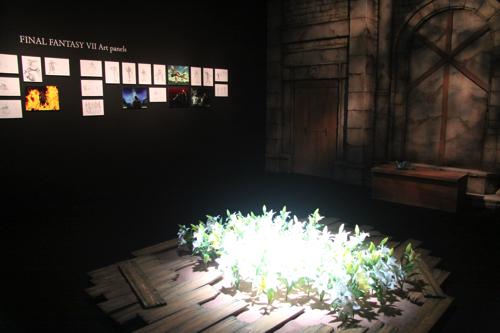 FFVII特別展示『エアリスの遺した言葉』
